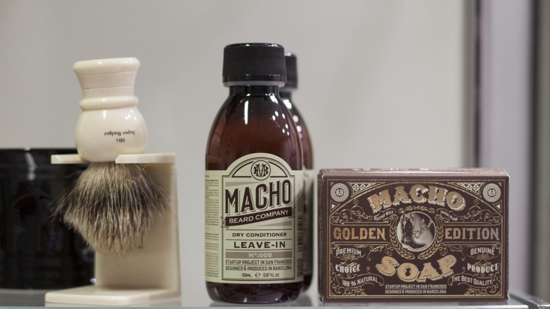 Moco de Gorila en Matojo Barber Shop barbería en Valladolid